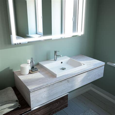 Plan De Toilette Fin + Vasque