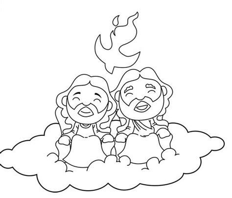 HD wallpapers holy trinity coloring pages for kids