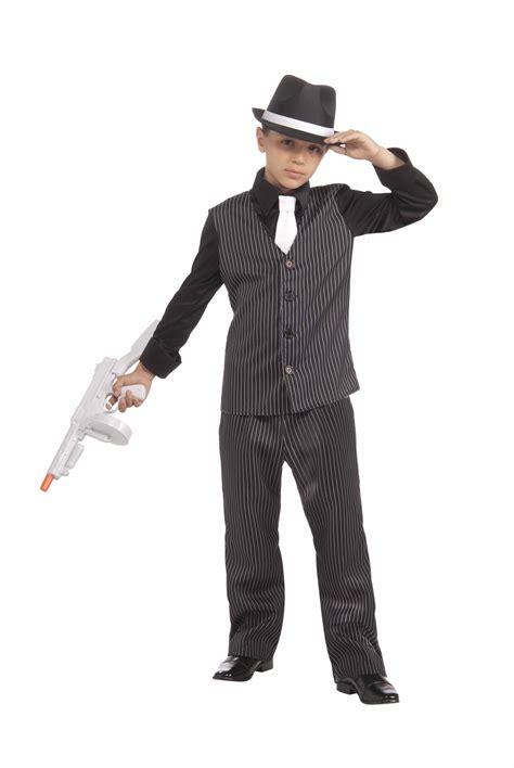 Gangster Halloween Costumes For Men