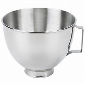 KitchenAid K45SBWH Stainless Steel 45 Qt Mixing Bowl