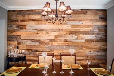 home interior pictures wall decor creations the wood accent wall dining room hughesu dining