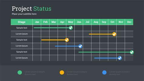 Gantt Chart Powerpoint Template Free