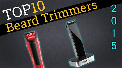 top beard trimmers compare beard trimmers youtube