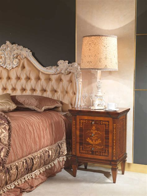 classic italian bedroom  century night table