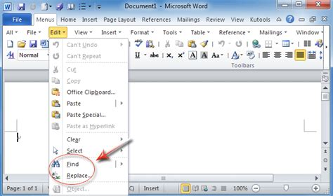 how do i use quot how do i use find and replace in excel 2010 excel tip