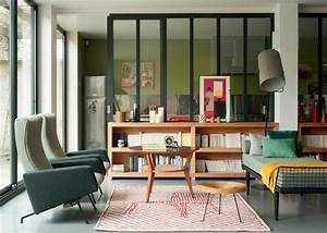 salon design scandinave nos idees deco marie claire With beautiful mur couleur lin et gris 17 deco style maison de campagne nature scandinave et