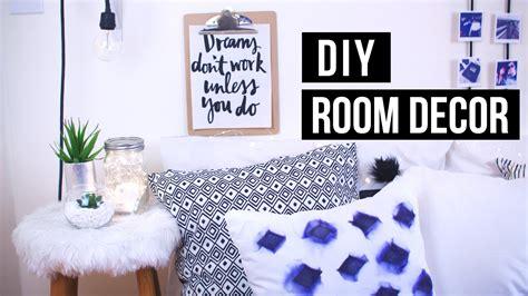 Diy Tumblr + Pinterest Room Decor!