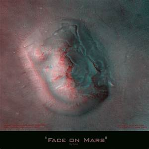 3D Face on Mars