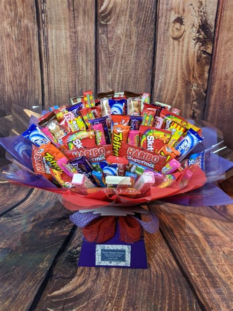 Mixed Chocolate & Sweet Bouquet - buy online or call 01437 ...