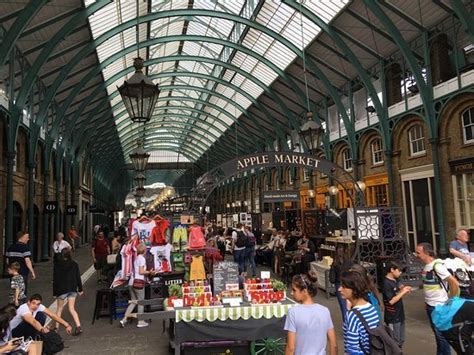 Covent Garden Market  Picture Of Apple Market, London