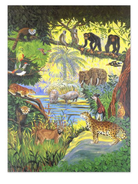 Sestavljanka Džungla - Založba UNSU