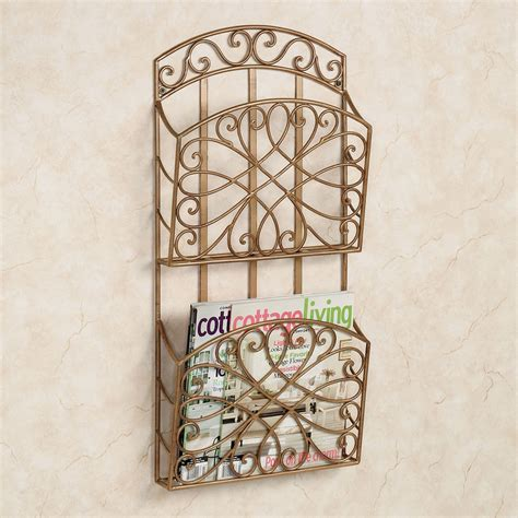 Wrought Iron Magazine Rack Wall Mount   Decor IdeasDecor Ideas