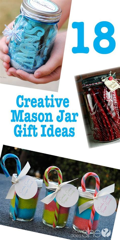 creative diy mason jar gifts great homemade gift ideas