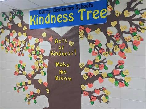 inspiring kindness trees building character  schools