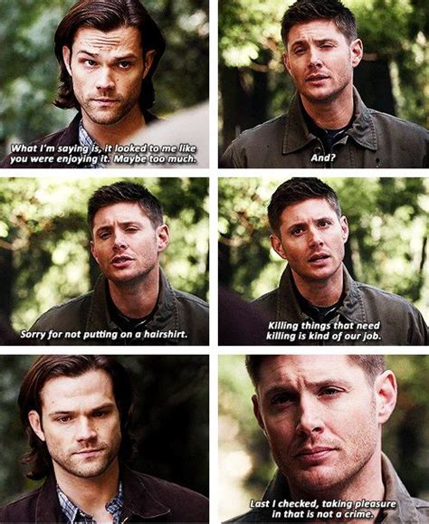 The Mark of Cain is changing Dean!! [gifset] 9x19 Alex ...