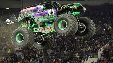grave digger monster truck images monster jam trucks have monster appeal car news carsguide