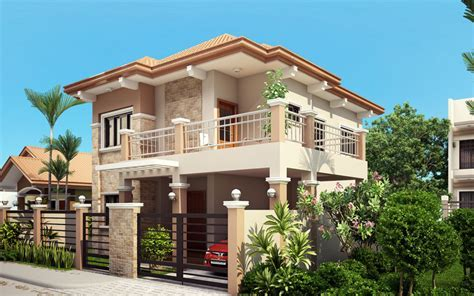 Four Bedroom Two Storey Contemporary Residence   Home Design