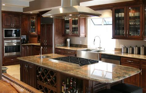 Kitchen Cabinets   Royal Chocolate   Craftsmen Network