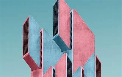 Architecture Building Background Concrete Tree 4k Ultra