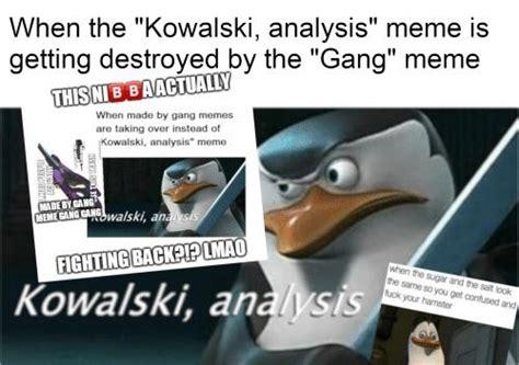 What's Up With The Kawasaki Analysis Meme?