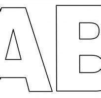 best 25 letras para imprimir ideas on moldes letras para imprimir alfabeto para