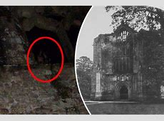 Horror snap Panic as HOODED GHOST priest spotted in