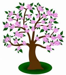 Baum Mit Blüten : baum cliparts ~ Frokenaadalensverden.com Haus und Dekorationen
