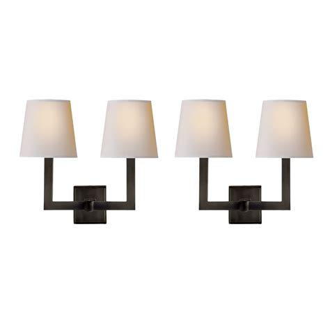 new visual comfort two light wall sconces by e f chapman
