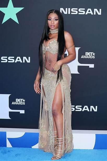 Stallion Megan Thee Bet Awards Carpet Bikini