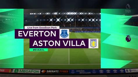 Premier League Matchweek #36 - Everton vs Aston Villa (PL ...