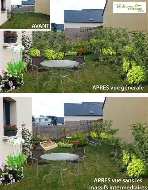 Amenager Un Jardin by Am 233 Nager Un Jardin Tout En Longueur Monjardin Materrasse