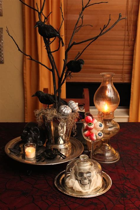 halloween table decor ideas halloween pinterest