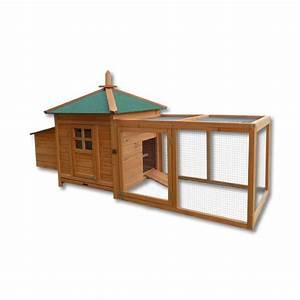 Plan Poulailler 5 Poules : poulailler clapier cage pour poule ou lapin en bois ~ Premium-room.com Idées de Décoration