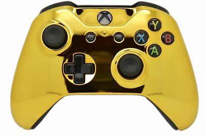 Xbox Controller Chrome Side