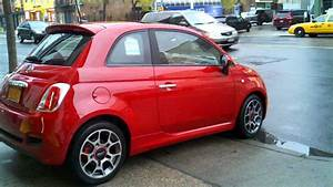 2012 Sport Red Fiat 500 Meets Nyc - Right Out Of The Dealership