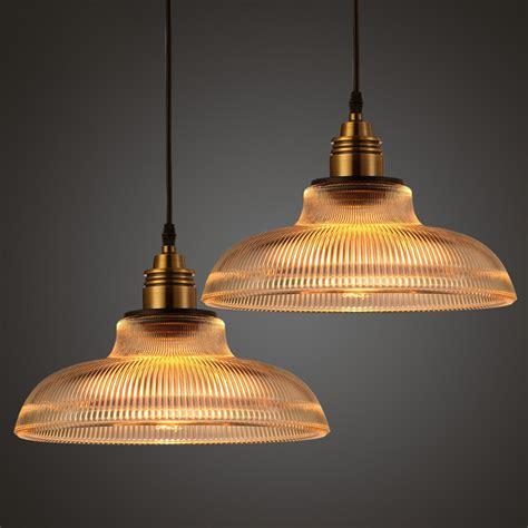 vintage glass light shades loft vintage antique industrial glass pendant ceiling