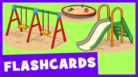 Learn Park And Playground Vocabulary  Talking Flashcards Youtube