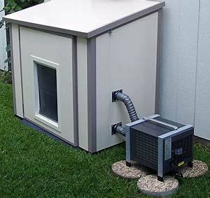 dog house air condiitoner With how to build an air conditioned dog house