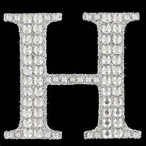 h silver glitter gemstone letter sticker hobby lobby With glitter letter stickers