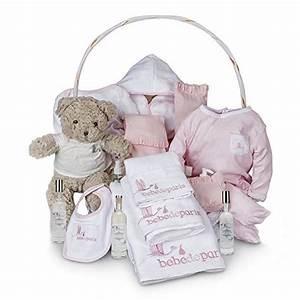 Panier De Toilette Bébé : coffret cadeau b b spa b b de r ve de bebedeparis rose ~ Teatrodelosmanantiales.com Idées de Décoration