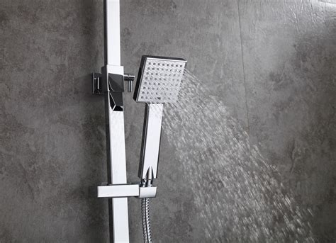 Wall Mount Shower Modern Bathroom Wall Mount Shower Set With