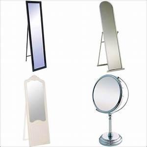 Miroir Sur Pied : petit miroir rond sur pied id es de d coration int rieure french decor ~ Teatrodelosmanantiales.com Idées de Décoration