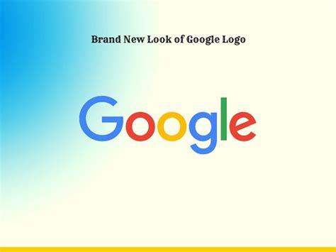 Brand New Look Of Google Logo