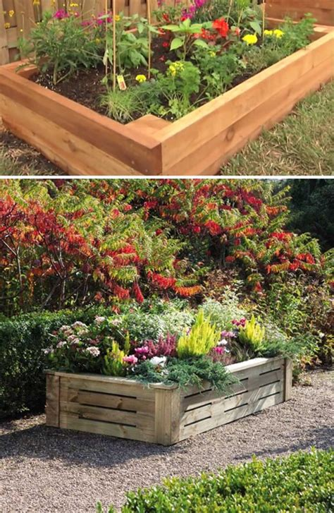 how to build a raised flower bed garden diy tutorial