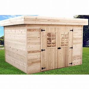 Abri De Jardin Bois Solde : abri de jardin en bois toit plat ~ Melissatoandfro.com Idées de Décoration