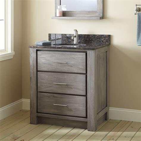 397934 30 Bathroom Vanity Cabinet Undermountjpg Gray