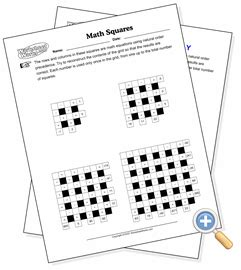 worksheet works math problem search answers math squares