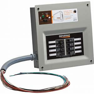 Generac Homelink Prewired Manual Transfer Switch  U2014 30 Amps
