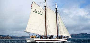 Scow Schooner Alma by Shipwright S Cottage Foundsf