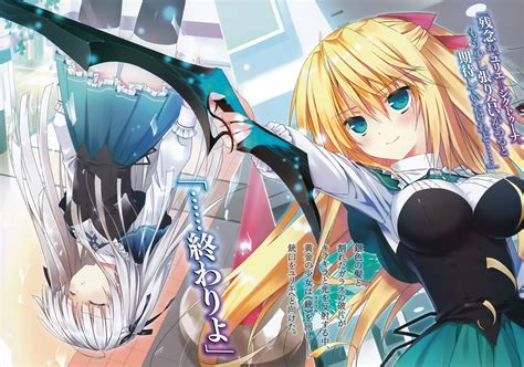 anime fantasy romance indo absolute duo manga anime romance action fantasy wallpaper